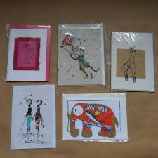 handcrafted cards each one different and special in many