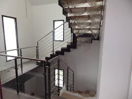escalier design bois metal escalier 1 4 tournant limon metal cremaillere