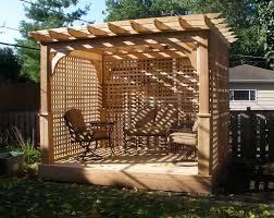 Pergolas Home Depot by Home Depot Pergolas Cedar Home Design Ideas