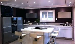 cuisine moderne avec ilot cuisine amenagee design cuisine avec ilot central arthur bonnet