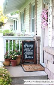 summer porch makeover chalkboard art love family home front porch