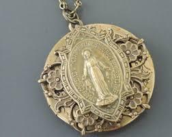 catholic pendants catholic jewelry etsy