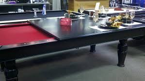 dining table pool table combo