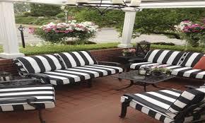Patio Cushion Black And White Patio Cushions Choice Comfort Your Cushions