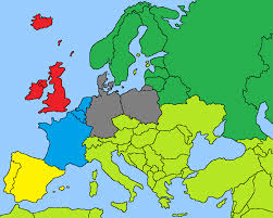 Map Of Spain And France by If The World Never Made A Currency System Alternative History