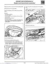 renault espace 2000 j66 3 g technical note 3426a workshop manual