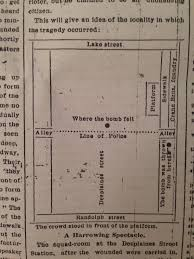 Map Chicago by File Haymarket Affair Map Chicago Tribune May 5 1886 Jpg