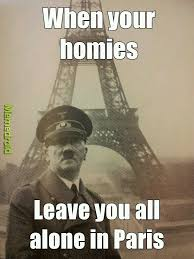 All Alone Meme - hitler forever alone meme by swegginator memedroid