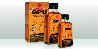 Minyak Gpu tanaman obat kesehatan umum minyak urut gpu cap lang vemale