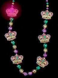 mardi gras crown blinking comedy tragedy mardi gras crown bead blinking