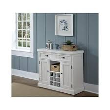 white kitchen buffet wood storage furniture wine racks cabinets