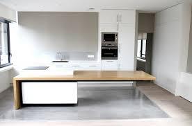 cuisine bois beton cuisine beton cire bois gallery of credence beton cire dans la