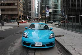 blue porsche 2017 2017 porsche 718 cayman s review u2013 the new classic rock the