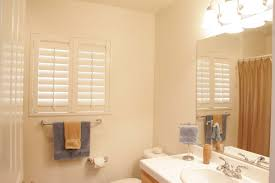 Window Treatment For Small Bathroom Window Which Shutters Are Right For A Bathroom