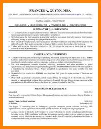 Self Motivated Resume 7 Procurement Resume Letter Of Apeal