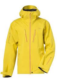 pyua backyard snowboard jacket for men yellow planet sports