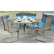 agio monterey 3 outdoor sling balcony swivel chair with woven seat