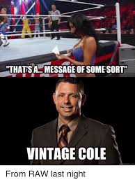 Cole Meme - thats message of some sort sa vintage cole meme com from raw last