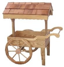 amish outdoor garden cart