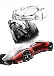 sketches for ferrari 자동차 렌더링 pinterest ferrari