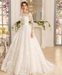 bridal dresses with sleeves 9 types of necklines which look the best with sleeve wedding