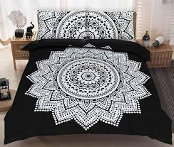 fairdecor hippie mandala tapestry indian blue floral psychedelic