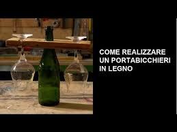 appendi bicchieri bar portabicchieri in legno