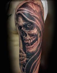 grim reaper tattoos designs meanings inkdoneright com