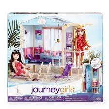 girls dollhouse bed journey girls beach hut toys