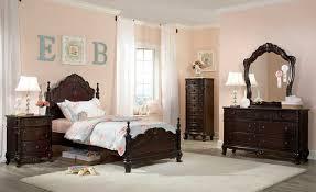 homelegance cinderella bedroom set dark cherry b1386nc