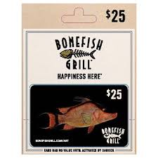bonefish gift card bonefish grill gift card 25 sam s club