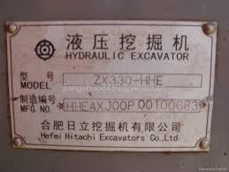 used crawler excavator hitachi zx330 china trading company
