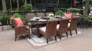 all weather dining table 8 person outdoor dining table contemporary set nico with regard to