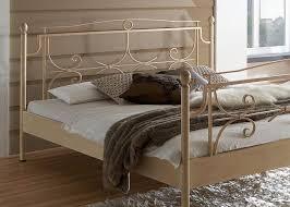 Schlafzimmer Mit Metallbett Metallbett Komplett Bett Mira Lattenrost Matratze Varianten