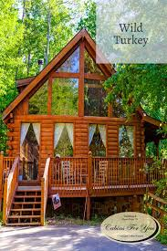 38 best pet friendly cabins images on pinterest pet friendly a luxurious two bedroom cabin located in pigeon forge tennessee wild turkey boasts soaring