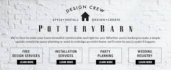 Free Interior Design Services Pottery Barn - Free home interior design