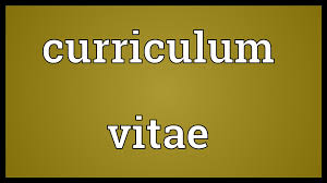 Cv Meaning Resume Curriculum Vitae Meaning Youtube
