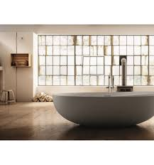 buy online oval free standing solid surface bathtub i bordi
