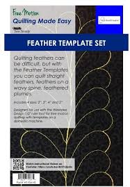 sew steady tables and westalee design templates for guided free motion