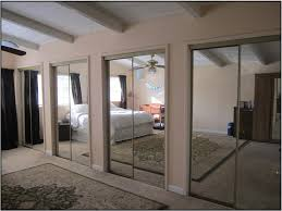 Mirror Sliding Closet Doors For Bedrooms Closet Storage Mirrored Walki In Closet Sliding Door To Space