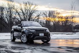 evoque land rover convertible review 2017 range rover evoque convertible canadian auto review