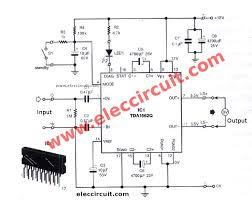 layout power audio 12volt circuit diagram images