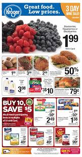 kroger ad preview 11 12 thanksgiving specials