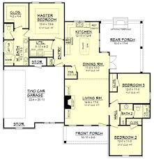 House Plans No Garage Plan House Plans 1500 To 1600 Sq Ft 6 On Sq1400 Ranch With 3 Car