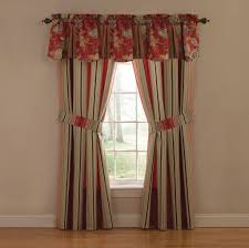home decoration beautiful red rose waverly valances design
