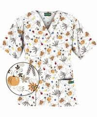thanksgiving scrub top fall fashion must haves a day in scrubs