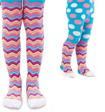 babies toddlers cotton tights with zig zag stripes buy
