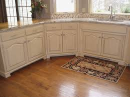 Staining Kitchen Cabinets White How To Paint Stained Kitchen Cabinets White Savae Org