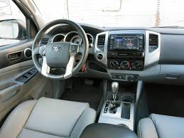 2004 Toyota Tacoma Interior 2015 Toyota Tacoma Road Test And Review Autobytel Com