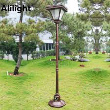 Solar Powered Outdoor Lights by Online Get Cheap Outdoor Light Pole Aliexpress Com Alibaba Group